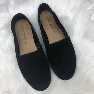 Lucky Brand | Brettany Oiled Suede Flats
